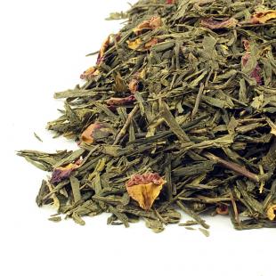 Ceai verde Sencha de cirese Kaika