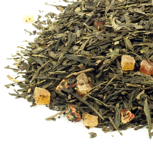 Ceai verde de capsuni de vara