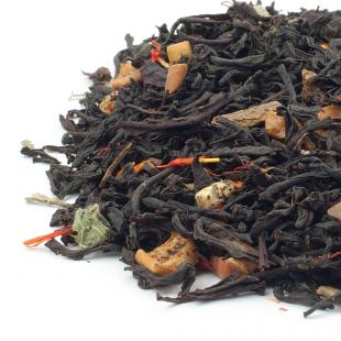 Ceai negru cu aroma de mere si scortisoara
