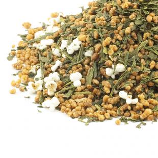 Ceai Genmaicha (Ceaiul Popcorn)